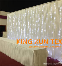 wedding backdrop prices 2018 cheap price 3m 6m white color wedding backdrop curtain include