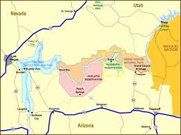 Kingman Arizona Map by Havasupai Tribe Tribal Water Uses In The Colorado River Basin