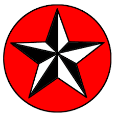 red star stars home tattoo designs