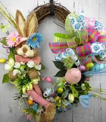 easter bunny grapevine wreath u2022 wreaths garland centerpieces