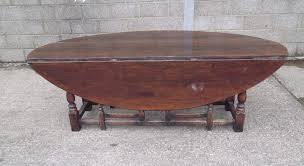 Oval Drop Leaf Table Large Oval Dining Table