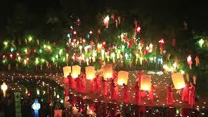 Festival Of Lights Thailand Chiang Mai Thailand November 6 Loy Krathong Festival In