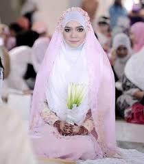 tutorial hijab syar i untuk pengantin tutorial hijab pengantin sederhana untuk akad nikah bbt blog baca