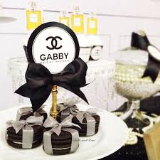 themed bridal shower the ultimate chanel themed bridal shower localpartyplanner