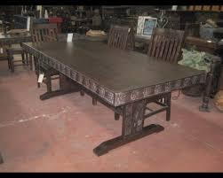 rustic wood dining room furniture in san diego san diego rustic