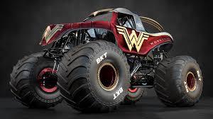 3d model woman monster jam monster truck wacom gallery