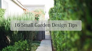 16 small garden design ideas tony ward furniture