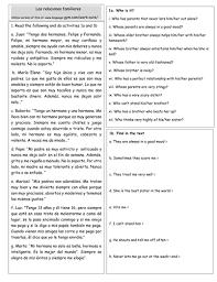 printables spanish comprehension worksheets ronleyba worksheets