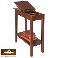 Chair Side Table Chairside Storage Table 11 Wide Laurie Dan S Living Room