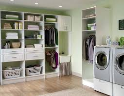 Contemporary Laundry Room Ideas Awesome Laundry Room Storage Systems Flow Wall Storage Solutions