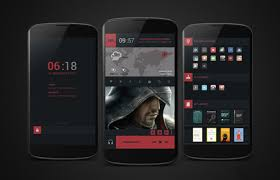 home themes for android 30 cool and customized android home screens hongkiat