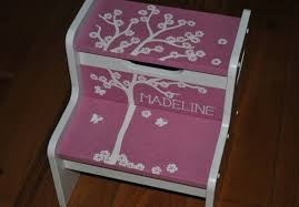 Time Out Chairs For Toddlers Stools Personalized Stools For Toddlers Dazzled Personalized