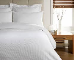 white bedding waffle white duvet cover super king bed beach