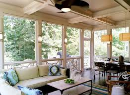decks patios screened in porch dining area pendants sectional