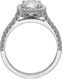 precision set rings precision set flush fit diamond engagement ring 7124