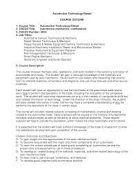Sample Resume Objectives For Mechanics by 100 Industrial Maintenance Resume Samples Maintenance