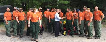 Wildfire Today Montana by Governor Cuomo Welcomes Second Team Of New York Wildfire Fighters