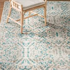 Area Rugs Turquoise Bungalow Saleya Turquoise Area Rug Reviews Wayfair