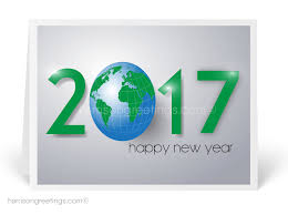 Happy New Year Business Card 2017 Planet Earth Happy New Year Card 7569 Harrison Greetings