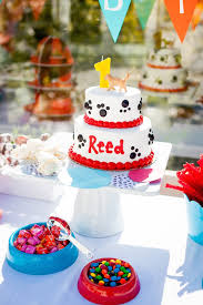 puppy party supplies kara s party ideas puppy themed 1st birthday party kara s party