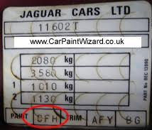 jaguar touch up paint kits car paint wizard