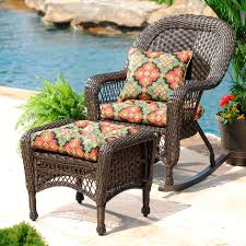 Comfortable Patio Furniture Outdoor Decor Get Comfortable With Outdoor Cushions My