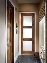 frosted glass entry doors meacham entry door interior square top rail 3 lite walnut