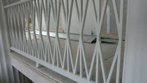 unfinished wooden porch railing designs and steel railing designs