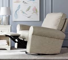 Comfortable Recliners Reviews Comfort Swivel Glider U0026 Recliner Pottery Barn Kids