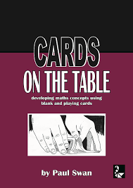cards on the table dr paul swan mathematics books materials cards on the table