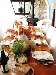 fall table decoration ideas grey velvet dining chairs 60 inch