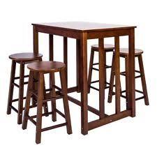 5 Piece Pub Table Set Bar Table Set Ebay