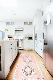 pink and black kitchen rug kitchen design