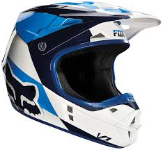 motocross helmets fox fox bmx helmet fox v1 mako helmets motocross white blue red fox