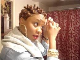 pixie hair do in twist bantu knot twist out style for short natural hair youtube