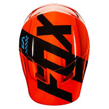 orange motocross helmet 2018 fox racing youth v1 mastar helmet orange sixstar racing