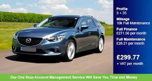 mazda account contract hire a mazda 6 tourer 2 2d sport nav