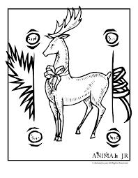 25 cartoon reindeer ideas santa claus