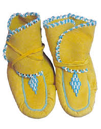 fourd beaded baby wrap moccasins four directions trading