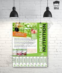 custom print ready herbalife contact flyer u2022 herbalife nutrition