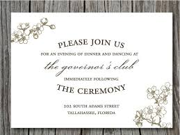 wedding invitation wording casual wedding invitation wording casual attire sle wording