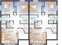 multi family house plans sleek modern multi family house plan 22330dr architectural