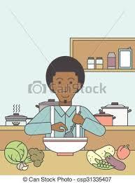 repas cuisine repas cuisine homme social clipart