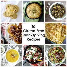 10 gluten free thanksgiving recipes