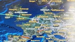 Delta Airlines Route Map by Boeing 767 300 Delta Airlines Brussels To New York Jfk May 2012