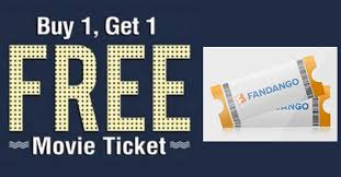 coupons and freebies buy 1 get 1 free fandango movie tickets sale