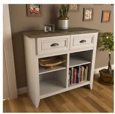 table with drawers and shelves entryway console table with storage white oak hallway mud room
