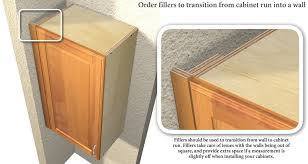 how to put filler on kitchen cabinets kitchen wall cabinet fillers kitchen wall cabinets wall