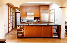solid cherry wood kitchen cabinet