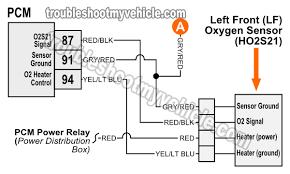 oxygen o2 sensor wiring diagrams 1997 4 6l f150 f250